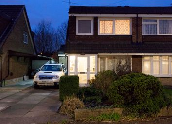 Thumbnail 3 bed semi-detached house for sale in Amberwood Drive, Manchester, Greater Manchester