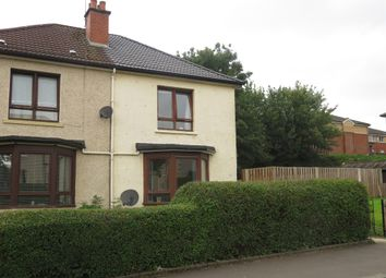 Thumbnail 2 bed semi-detached house for sale in Glencorse Street, Glasgow
