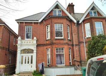 Thumbnail 1 bed flat to rent in Wilbury Villas, Hove, East Sussex