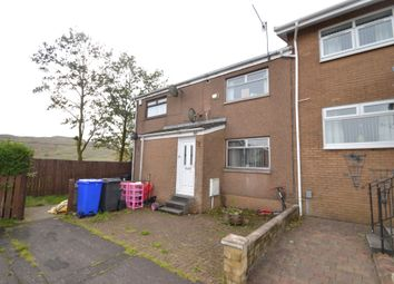 Thumbnail 2 bed terraced house for sale in Crisswell Crescent, Greenock, Renfrewshire