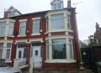 Thumbnail 5 bed end terrace house for sale in Rivington Road, Wallasey