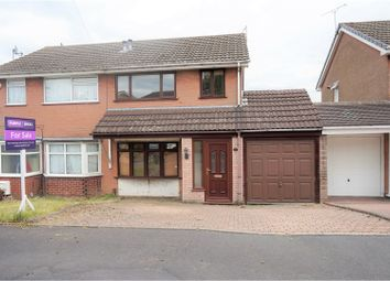 Thumbnail 3 bed semi-detached house for sale in Palace Close, Rowley Regis