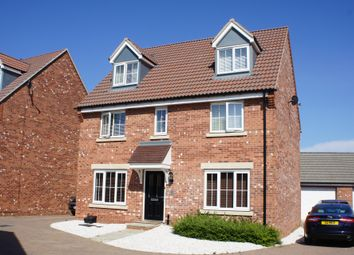 Thumbnail 5 bed detached house to rent in Musselburgh Way, Bourne, Peterborough