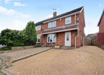 Thumbnail 3 bed semi-detached house for sale in Milverton Road, Bestwood Park, Nottingham