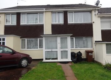 Thumbnail 3 bed terraced house to rent in Davies Close, Silverton, Exeter