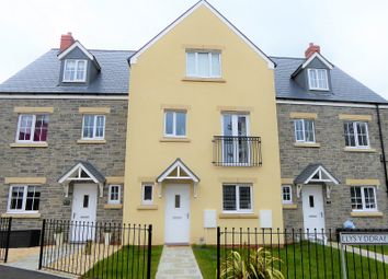 Thumbnail 4 bed town house for sale in Llys-Y-Ddraenen, Parc Derwen, Coity, Bridgend.