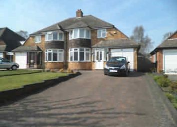 Thumbnail 3 bed semi-detached house to rent in Stirling Road, Sutton Coldfield