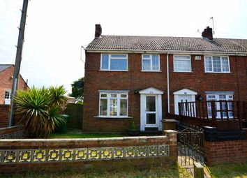 Thumbnail 3 bed end terrace house for sale in Headlands Road, Aldbrough, East Yorkshire