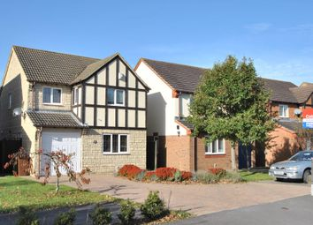 Thumbnail 4 bed detached house for sale in The Cornfields, Bishops Cleeve, Cheltenham