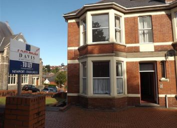 Thumbnail 2 bed flat to rent in Llanthewy Road, Newport, S Wales .