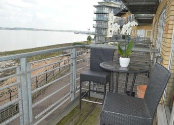 Thumbnail 2 bed flat for sale in Portland Place, Greenhithe