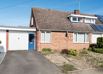Thumbnail 3 bedroom semi-detached bungalow for sale in Glebe Road, Southam