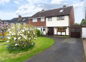 Thumbnail 3 bed semi-detached house for sale in Windsor Gardens, Castlecroft, Wolverhampton