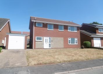 Thumbnail 3 bed detached house for sale in Dunster Road, Gainsborough
