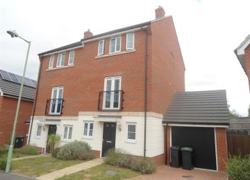 Thumbnail 4 bedroom semi-detached house for sale in Buzzard Rise, Stowmarket