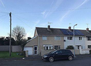 Thumbnail 3 bed end terrace house for sale in Glebelands, Johnston, Haverfordwest