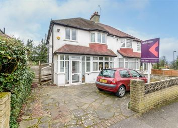 Thumbnail 3 bedroom semi-detached house for sale in Grasmere Road, Purley, Surrey