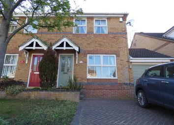 Thumbnail 3 bedroom semi-detached house to rent in Baker Crescent, Lincoln