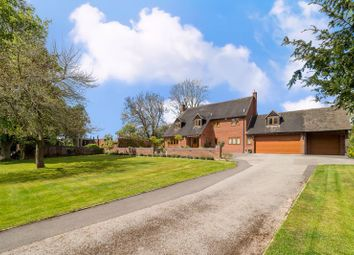 Thumbnail 5 bed detached house for sale in Ashow, Kenilworth