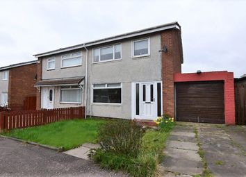 Thumbnail 3 bed semi-detached house for sale in Hillview Crescent, Bellshill