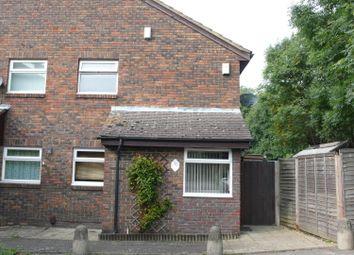 Thumbnail 1 bed end terrace house to rent in Hambledon Close, Uxbridge