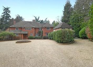 Thumbnail 5 bed detached house to rent in Wellington Avenue, Virginia Water