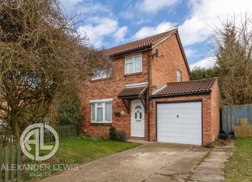 Thumbnail 3 bed semi-detached house for sale in Swift Close, Letchworth