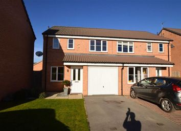 Thumbnail 3 bed semi-detached house for sale in Miskin Close, Hornsea, East Yorkshire
