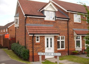 Thumbnail 2 bed semi-detached house to rent in Packhorse Drive, Enderby, Leicester