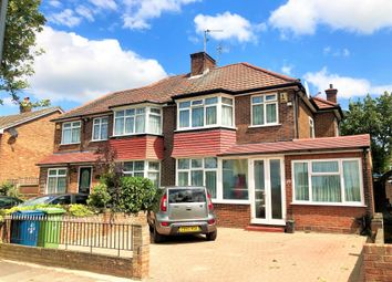 Thumbnail 3 bedroom semi-detached house for sale in Burnell Gardens, Stanmore