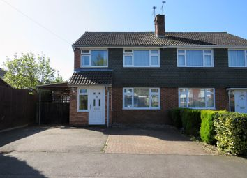 Thumbnail 3 bed semi-detached house for sale in Bronyon Close, Bury St. Edmunds