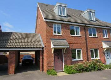 Thumbnail 3 bed end terrace house for sale in Vickers Way, Upper Cambourne, Cambridge