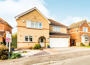 Thumbnail 5 bed detached house for sale in Lindsey Drive, Crowle, Scunthorpe