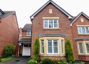 Thumbnail 3 bed detached house to rent in Hartley Close, Stone