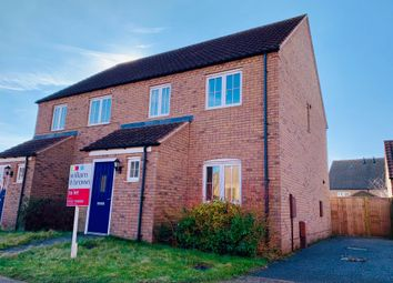 Thumbnail 3 bedroom terraced house to rent in St Lawrence Drive, Bardney, Lincoln
