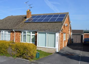 Thumbnail 2 bedroom semi-detached bungalow for sale in Homefield, Locking, Weston-Super-Mare