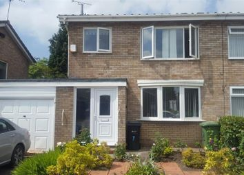 Thumbnail 3 bed semi-detached house to rent in Launceston Close, Winsford
