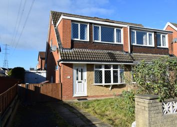 Thumbnail 3 bed semi-detached house for sale in Noon Close, Stanley, Wakefield