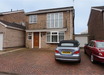 Thumbnail 4 bed detached house for sale in Watson Avenue, Market Harborough