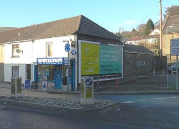 Thumbnail Retail premises for sale in Gelligaled Road, Ystrad, Pentre