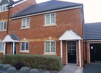 Thumbnail 2 bed flat to rent in Glovers Hill Court, Brereton, Rugeley, Staffordshire
