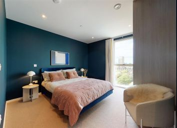 Thumbnail 1 bed flat for sale in 31 Waterline Way, London