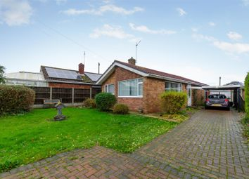 Thumbnail 3 bed detached bungalow for sale in Meadow Rise, Hemsby, Great Yarmouth