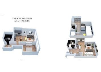 Thumbnail Serviced flat for sale in Castle Street, City Centre