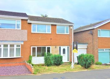 Thumbnail 3 bed semi-detached house to rent in Rosewood Court, Marton-In-Cleveland, Middlesbrough