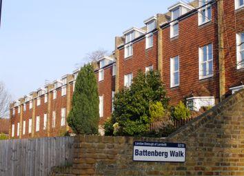 Thumbnail 1 bed flat to rent in Battenberg Walk, London