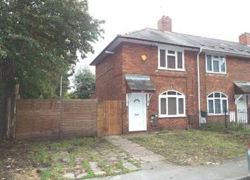 2 bed end terrace house for sale in Osier Street, Eastfields, Wolverhampton, West Midlands WV1