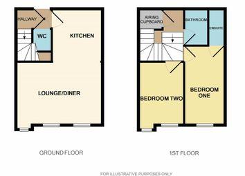 Thumbnail 2 bed flat for sale in St. John Street, Lichfield