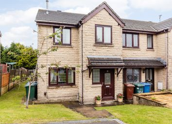 Thumbnail 3 bed end terrace house for sale in Peel Drive, Bacup, Lancashire