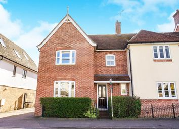 Thumbnail 3 bedroom semi-detached house for sale in High Street, Watton At Stone, Hertford